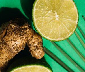 Ginger lime honey ayurveda miture