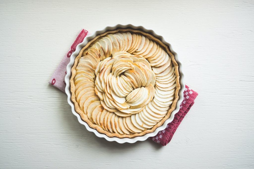 apple tart healthy ayurveda