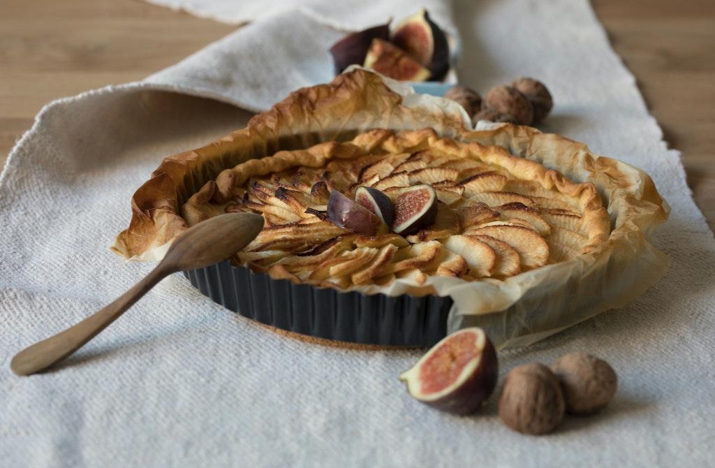 apple tart healthy cooked ayurveda