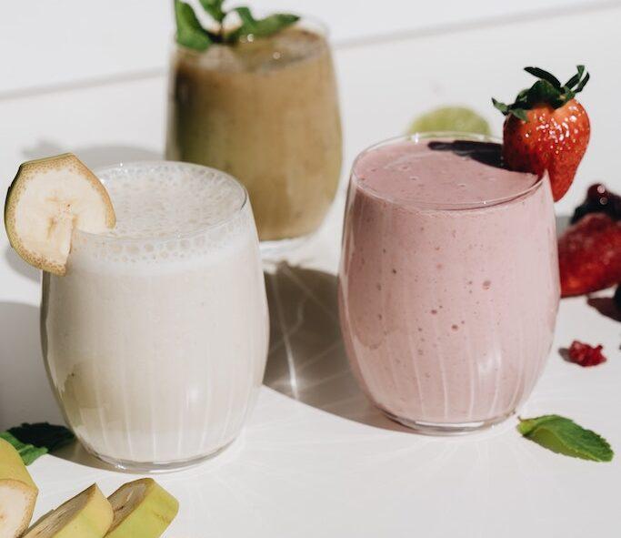 food combination milkshake