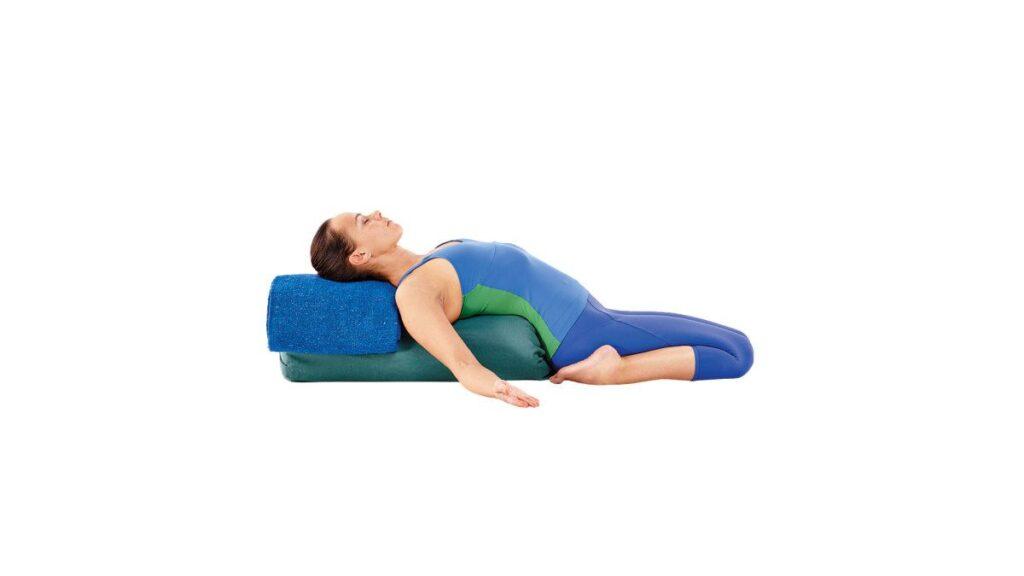 reclining hero yoga